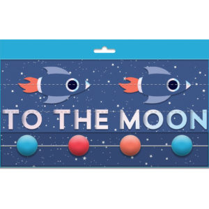 Guirnalda Rocket to the moon