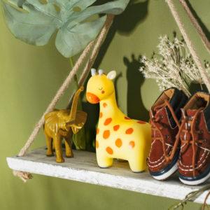 Lámpara bebé quitamiedos jirafa