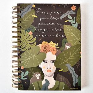 Libreta Frida Kahlo
