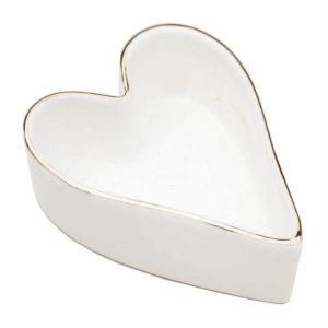 Plato decorativo Corazón