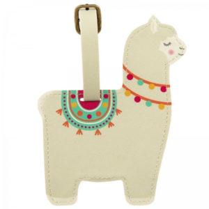 Tag de maleta Llama