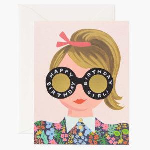 Tarjeta Meadow Birthday Girl