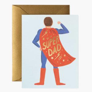 Tarjeta Super Dad