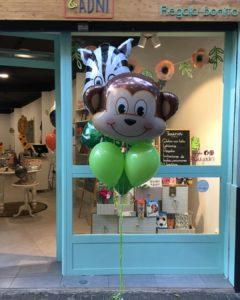 arreglo globos fiestas infantiles animales de la selva Valencia