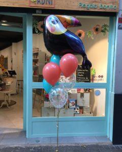 arreglo globos fiestas infantiles globo helio tucan