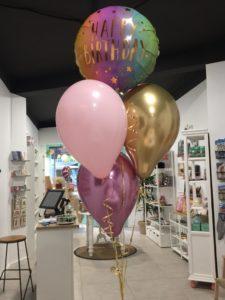 arreglo globos Valencia fiesta Cumpleaños