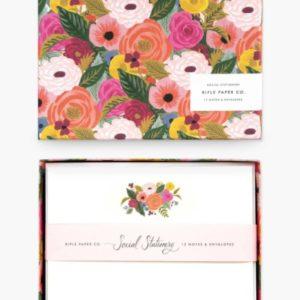 Set de tarjetas Juliet Rose 1