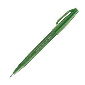 Rotulador Pentel Verde