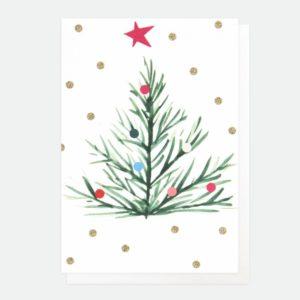 Tarjeta Árbol de Navidad 1