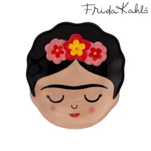 Plato Decorativo Joyero Frida Kahlo