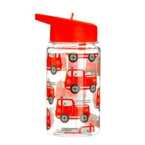 Botella para Niños Camión de Bomberos