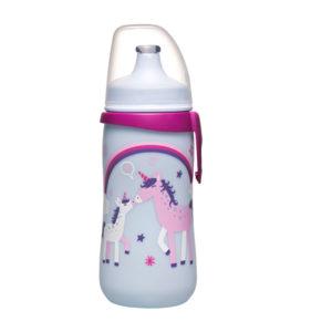 Botella con Tapa Push-Pull Unicornio 1