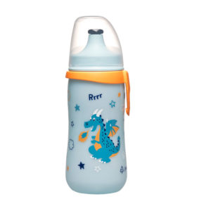 Botella con Tapa Push-Pull Dragón 1