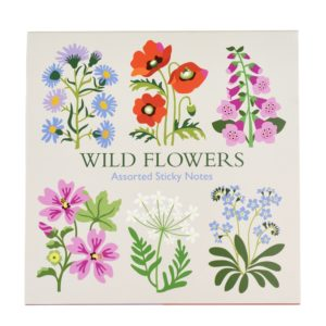 Notas adhesivas Wild Flowers 1