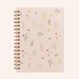 Libreta Estás en la flor de la vida 1