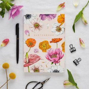 Libreta Floral Brights 1