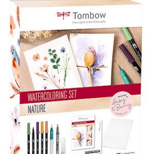 Tombow Watercoloring Nature